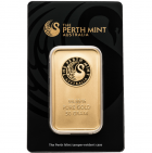 Lingot or 50 g Perth Mint