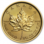 1/10 oz maple leaf 2018