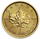 1/10 oz maple leaf 2017