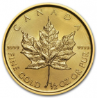 1/2 oz maple leaf 2018