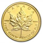 1/20 oz maple leaf 2011