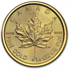 1/4 oz Maple Leaf 2017