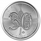 1 oz maple leaf 2018 30e anniversaire