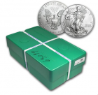 Monster box 500 silver eagle 1 oz