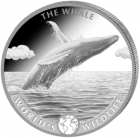 1 oz baleine world's wildlife 2020