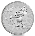 1 oz Disney Steamboat Willie 2017x25