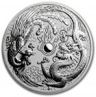 1 oz dragon et phoenix 2017