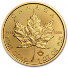 1 oz maple leaf 2018