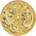 1 oz dragon et tigre 2019