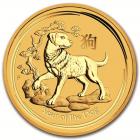 1 oz chien 2018 Lunar II