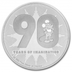 1 oz disney mickey 90e anniv 2018 x25