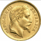20 francs or napoléon III