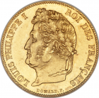 20 Francs or Louis Philippe I lauré