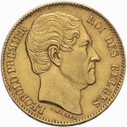 20 Francs or léopold I