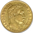 10 Francs or Napoléon III