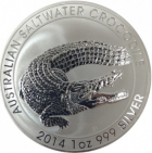 1 oz saltwater crocodile 2014
