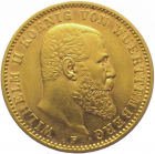 20 mark or Wilhelm II Württemberg