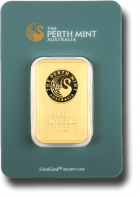 Lingot or 10 oz Perth Mint