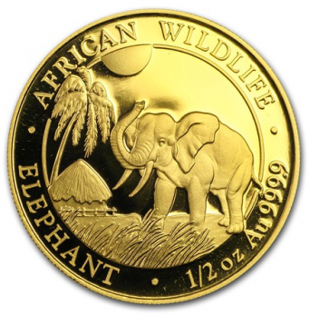1/2 oz African Wildlife 2017
