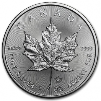 1 oz maple leaf 2017 x100