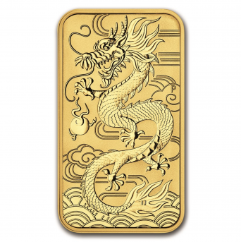 1 oz dragon chinois 2018
