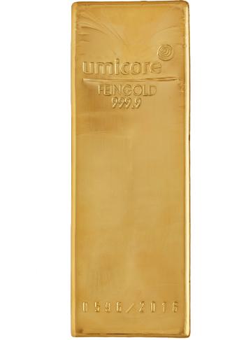 Lingot Or 12 5 Kg Umicore Acheter Or Et Argent Achat Piece Et Lingot