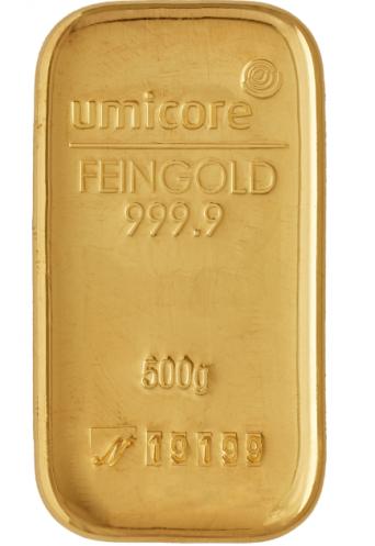 Lingot Or 250 G Umicore