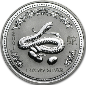 1 oz serpent 2001 Lunar I