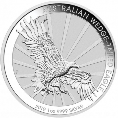 1 Oz Wedge Tailed Eagle 2019 Acheter Or Et Argent Achat