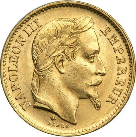 20 Francs Or Napoleon Iii Acheter Or Et Argent Achat Piece Et Lingot