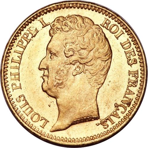 20 Francs Or Louis Philippe I Nu Acheter Or Et Argent Achat Piece Et