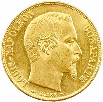 20 Francs Or Louis Napoleon Bonaparte Acheter Or Et Argent Achat