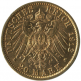 20 mark or Wilhelm II Uniforme